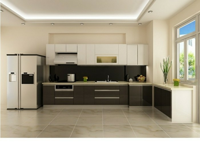 mẫu trần thạch cao bếp 11