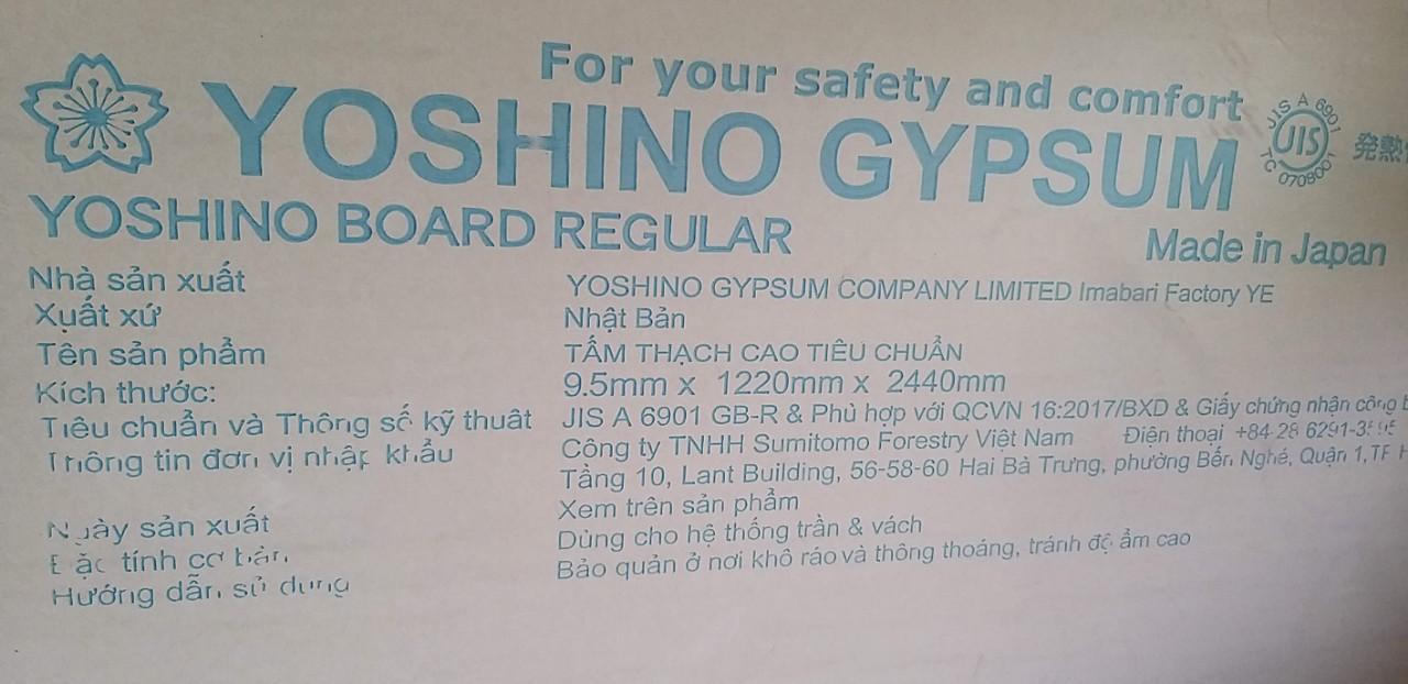 taamss thạch cao yoshino
