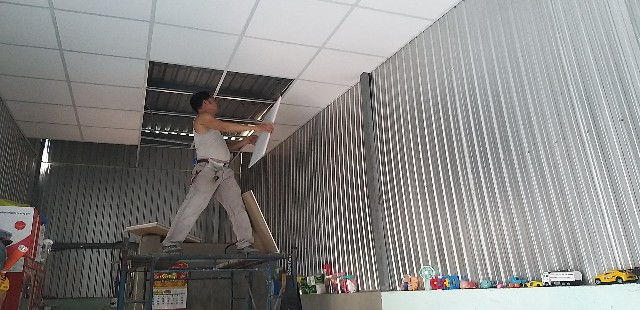 Trần thạch cao chịu nước giá rẻ Quận Gò Vấp
