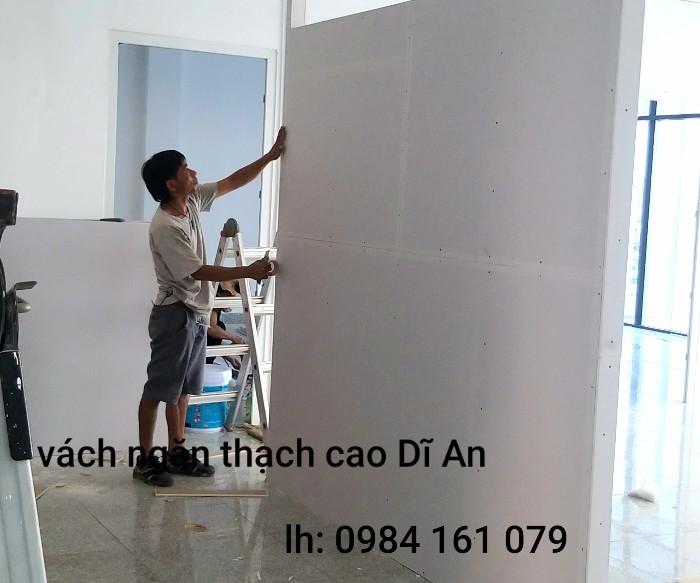 làm tường thạch cao hcm